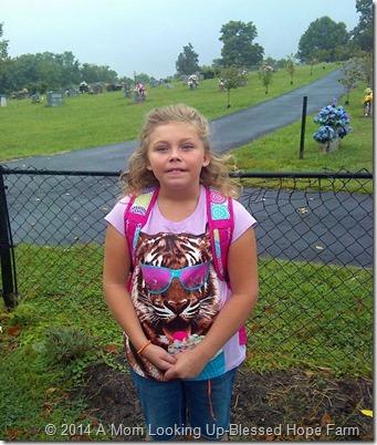 1st day at Woodlawn, 4th grade Ms. Webb