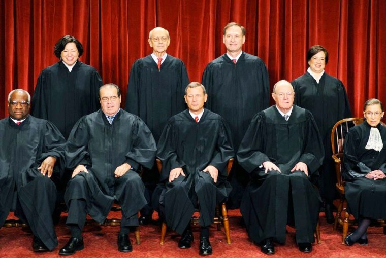 The Supreme Court in the US is compromised by a majority of Roman Catholics.